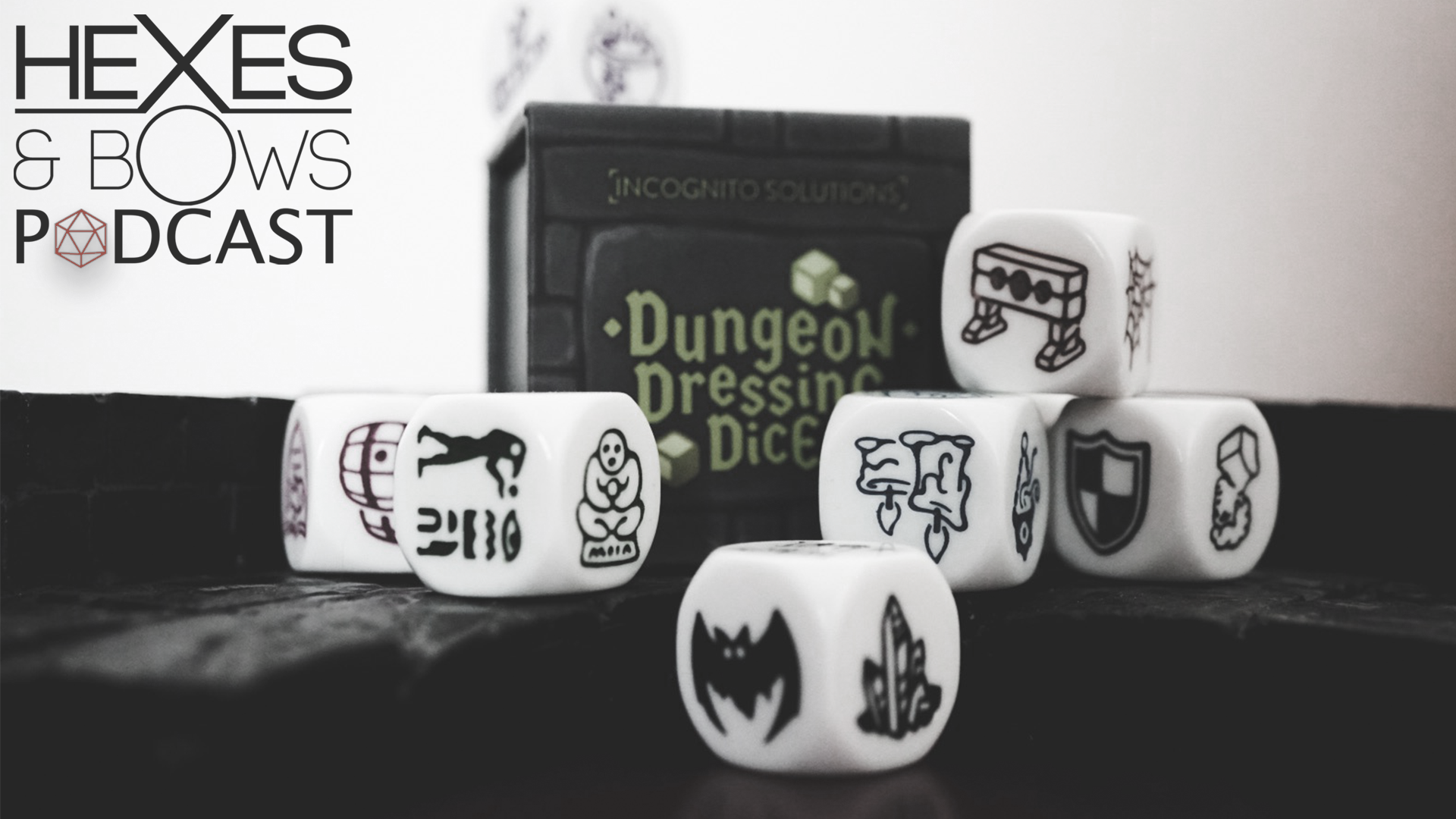 Hexes & Bows Reviews: Dungeon Dressing Dice Kickstarter